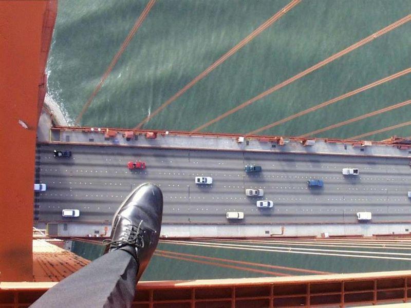 Февраля, страх высоты смешные картинки