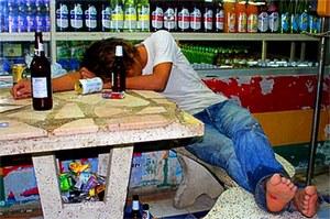Разрушающее влияние алкоголя на организм человека