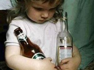Влияние пьянства в семье на детей