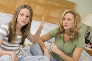 Конфликты с подростком