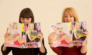 Чтение глянцевых журналов меняет представление об идеальной фигуре