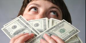 Одной из причин женской депрессии являются деньги