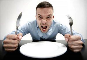 Определено, что происходит с человеком, когда он злится от голода