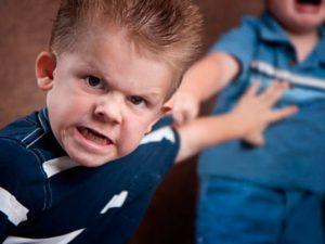 Детская агрессия. Виды и способы коррекции