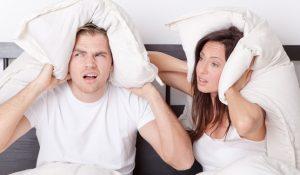 Шумные соседи могут довести до нервного срыва